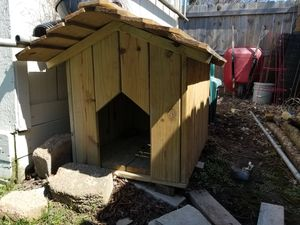 Medium dog house I build my self for Sale in Whitehall, OH