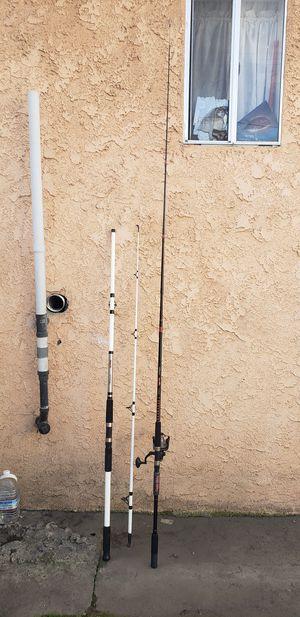 2 ocean fishing rods for Sale in Los Angeles, CA