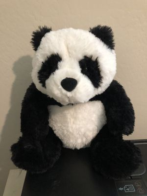 Panda Bear stuffed animal practically Brand New 12 inches tall and 9 inches wide for Sale in Phoenix, AZ