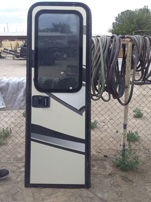 Rv door with frame for Sale in Canutillo, TX