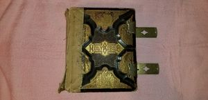 Holy Bible copyright 1890 by JA Holman & Co for Sale in Victoria, VA