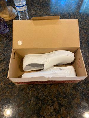 Vans All White Slip-on for Sale in Marietta, GA