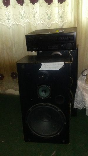 Technics speakers and sound system for Sale in Montesano, WA
