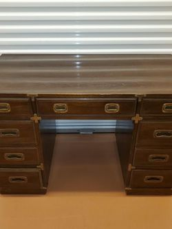 Large Mid Century Campaign Desk! for Sale in Fort Myers,  FL