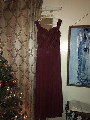 Burgandy dress for Sale in Montebello, CA