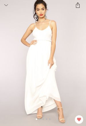 White maxi dress for Sale in Natrona Heights, PA