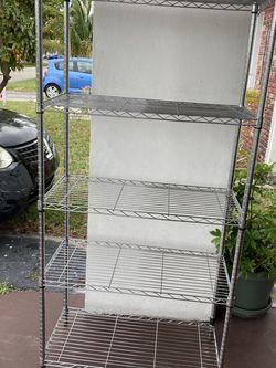 5 Tier Metal Shelves for Sale in Fort Lauderdale,  FL