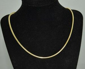 """18K Gold Plated 24"""" or 28"""" Snake Chain for Sale in Lancaster, PA"""