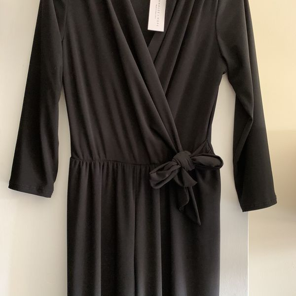 Annale and hope woman black jumpsuit