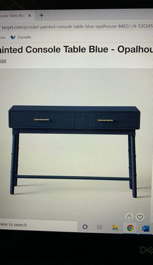 Desk/Console Table for Sale in Phoenix, AZ