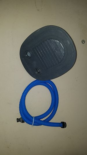 Foot powered air (mattress or boat, etc) air pump for Sale in Tucson, AZ