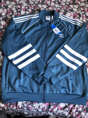 Mens Blue Adidas Track Jacket for Sale in San Diego, CA