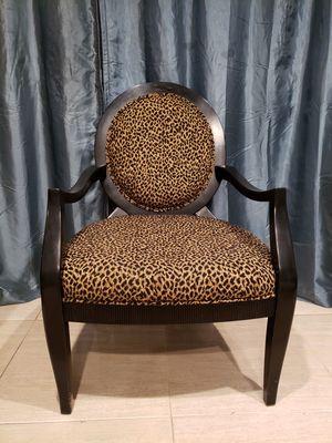 Accent Chair Cheetah print for Sale in Phoenix, AZ