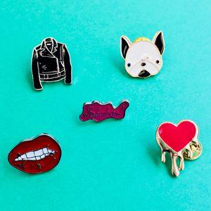 Set of 5 enamel pins for Sale in San Francisco, CA