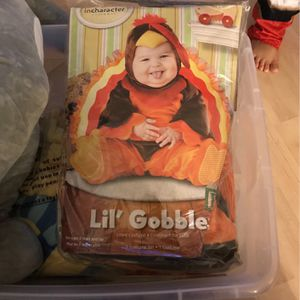 Turkey Costume For Infants for Sale in Oxnard, CA