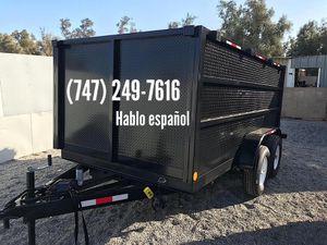 12x4x8 Dump Trailer for Sale in Garden Grove, CA