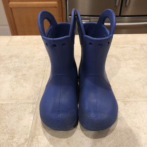 CROCS Rain boots Size 9 for Sale in Lake Stevens, WA