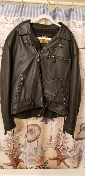 Like new condition leather Harley Davidson motorcycle jacket for Sale in Aliquippa, PA