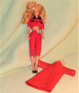 Barbie with raincoat. for Sale in Bally, PA