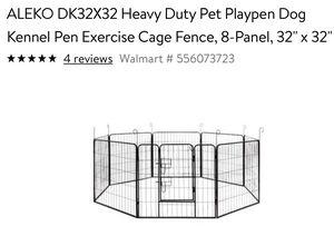 Pet playpen, dog kennel for Sale in Manchaca, TX