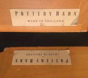 Pottery Barn crown molding floating wall shelves (2 shelves) for Sale in Clifton,  NJ