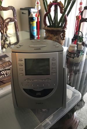 CD PLAYER Alarm clock Sleep mode sounds for Sale in Laurel, MD