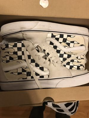 Vans white checkered for Sale in Fuquay-Varina, NC