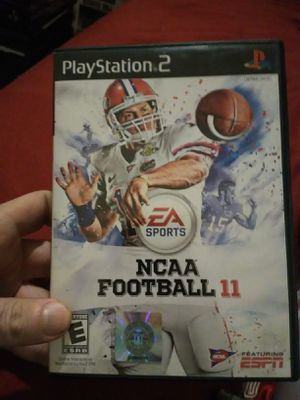 NCAA 11 PS2 for Sale in Kingsport, TN