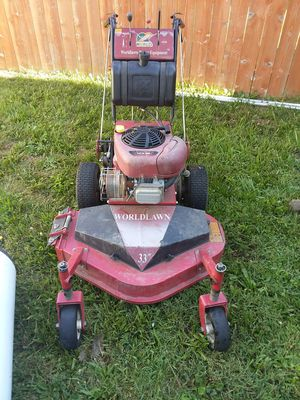 Walk behind mower good shape ready to go for work for Sale in Cleveland, OH