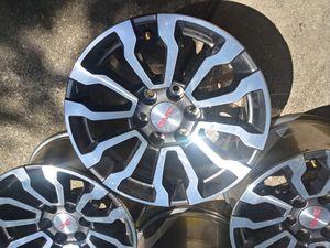 GMC factory wheels 18 in like brand new for Sale in San Antonio, TX