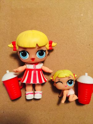 Cheer Captain and lil Cheer captain lol Surprise doll series 1 for Sale in Lynnwood, WA