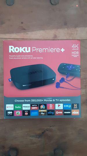 Roku Premiere+ 4k ultra HD for Sale in St. Petersburg, FL