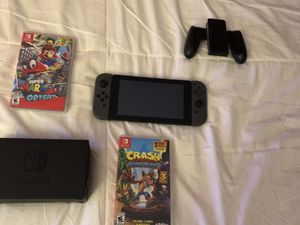 nintendo switch! + 2 Games!! for Sale in San Diego, CA