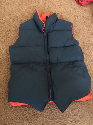 Navy blue puffer vest Size 10 for Sale in Washington, DC