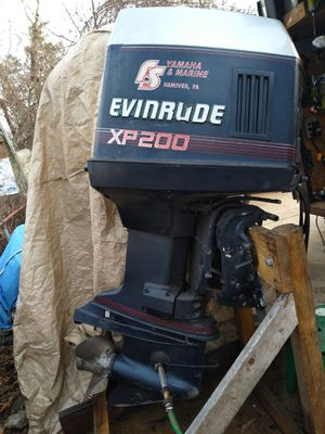 Evinrude xp200hp outboard motor for Sale in Riverdale, MD