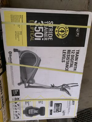 Gold's gym elliptical machine for Sale in Las Vegas, NV