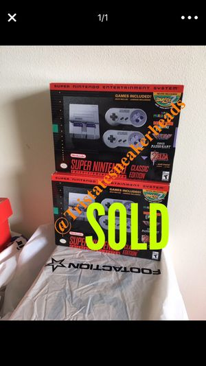 Super Nintendo Classic 1 Available for Sale in New York, NY