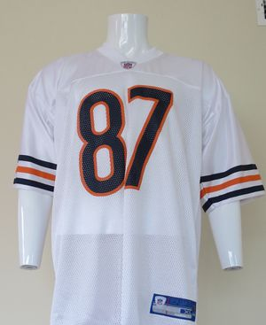 Muhsin Muhammad Chicago Bears Jersey Men's XL: NFL Reebok, White, Screen Printed for Sale in Weston, MA