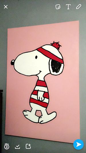 Snoopy Painting odlaw for Sale in San Francisco, CA