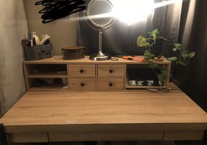 Table & shelves for Sale in Perris, CA