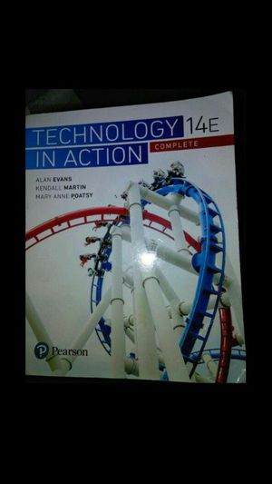 Intro to technology college book for Sale in Tampa, FL