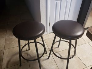 Bar stools set of two for Sale in Wahneta, FL