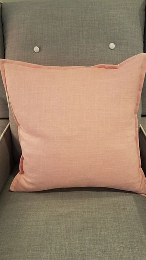 BLUSH COLORED DECORATIVE PILLOW for Sale in Orange, CA