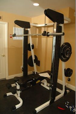 Squat Rack and 255lb Olympic Weight Set for Sale in Arnold,  MD