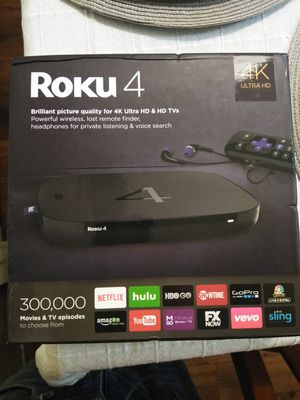 Roku 4 for Sale in Tampa, FL