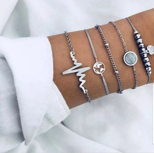 5-Piece Vintage Glam Charm Bracelet Set-Gift Ideas for Sale in San Ramon, CA