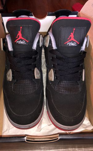 VNDS jordan retro 4 bred GS size 5.5Y for Sale in Portland, OR