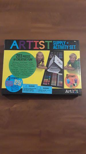 Art set for kids. ART 101. Artist Supply+ Activity Set for Sale in Jacksonville, FL