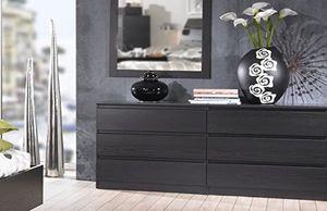 New!! Dresser, chest, wardrobe, 6 drawer double dresser, storage unit, organizer, bedroom furniture , coffee for Sale in Phoenix, AZ