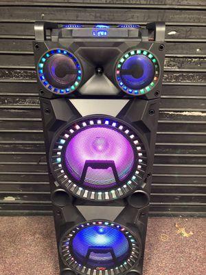 Bluetooth speaker 🔊 karaoke 🎤 for Sale in Springfield, VA